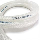 CJFLEX 玻纤网纹硅胶管 GF